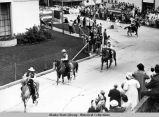 1959 4th of July Parade.  Contra Costa County Mounted Posse.