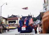 Statehood Parade [Northern Light Presbyterian Church float].