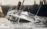 Wreck of Str. Spokane in Seymour Narrows. June 30th 1911.