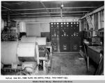 Cold Bay, Power plants and control panels. Taken August 1949.