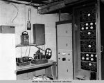 Undersea cable amplifier and test equipment. Basement of office Building #1.
