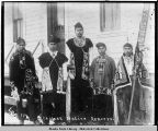 Chilkat native dancers.