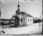Russian Church at Killisnoo Alaska.