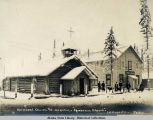 Fairbanks, Alaska. Episcopal Church and Hospital.
