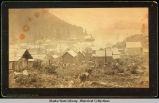 Juneau; view south over rooftops, ca. 1880's.