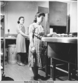 Maids at work in dishwashing room.U.S. I. O. Hospital - Bethel 3/1940.