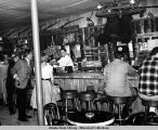 Interior of Red Dog Saloon, 1966.