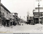 Snow covered Front Street, Nome, 1907