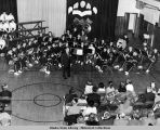 Juneau High School band concert 1956.