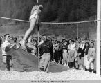 Juneau High School track meet.