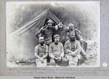 Survey crew at Camp Lavinis.