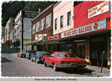 Franklin Street and Red Dog Saloon, Juneau, ca. 1970.