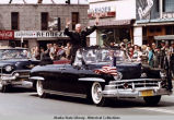 President Eisenhower in Anchorage parade, 1960.