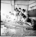 Hooper Bay school shop,  3/1942.