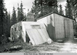 Hooverville in Fairbanks during Pipeline boom years.