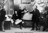 Signing of Treaty of Cessation, March 30, 1867.
