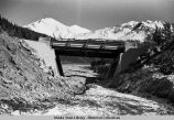 Whistler Creek Bridge, Richardson Highway, 1955.