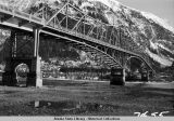 Douglas Bridge over Gastineau Channel, 1950.