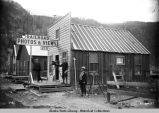 H. C. Barley's photo studio in Skagway.