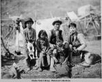 Athabascan children, Copper River, ca. 1910.