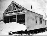 Andrews photography studio, Douglas, Alaska, ca. 1900-1935.