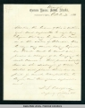 Letter from I.S. Oakford, deputy collector of customs, Wrangell, Oct. 30 1881.