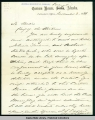 Letter from I.S. Oakford, deputy collector of customs, Wrangell, Nov. 2, 1881.
