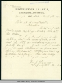 Letter from Wm.  G. Thomas, Deputy U.S. Marshall, Wrangell, Mar. 4, 1894