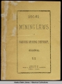 cover Local Mining Laws of Harris...