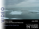 Immersion Camp: 41.  Images of the Quiet Ice