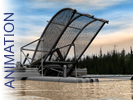 The Interior Alaska Fish Wheel: Animation
