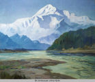 Mt. McKinley and River