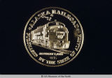 Alaska Railroad Gold Medallion