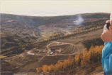 View of the Few Ryan Lode area of the Fort Knox Mine, 1995.