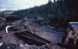 Placer mining near Boundary, Alaska, August 1982.