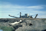 Mining dredge number 5 at Nome, 1979.