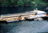 """Floating hotel"", that housed oil spill workers."