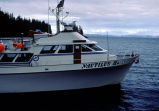 Nautilus II, ADEC science ship, winter diving crews headquarters