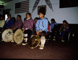 The Senior Seminar attend eskimo cultural dance.