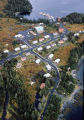 Aerial of Chenega Bay Village.