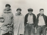 Four men at Nunivak Island, ca. 1940.