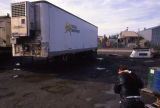 Lynden transport trailer to hold carcasses of impacted wildlife.