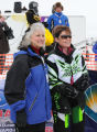 Governor Sarah Palin at the Iron Dog snowmobile race, 2009.