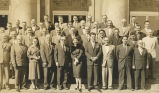 Photo of legislators, Juneau, ca. 1959.
