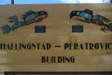 Hallingstad-Peratrovich Building Sign