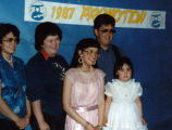 Eileen's graduation day.