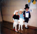 Thanksgiving play performed by Christina, Ida and Kevin.