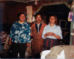 Dallia, Gabby and Mary family photograph.