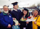 Phil Baumgartner with his wife Georgette on graduation day.