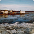 Ice jam on Kvichak River.